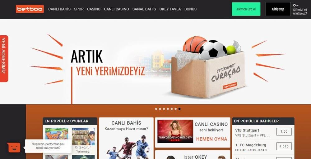 Betboo Casino Sitesi Bonusları